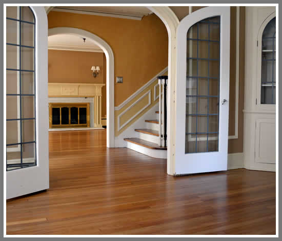 New wood flooring installation Menomonee Falls