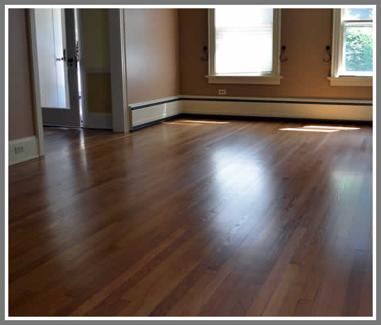 Wood floor refinishing Menomonee Falls